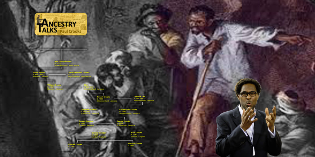 Paul Crooks leading on slave rebellion